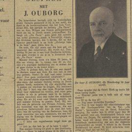 Johannes Ouborg; een man van aanzien in het oude Dordtse